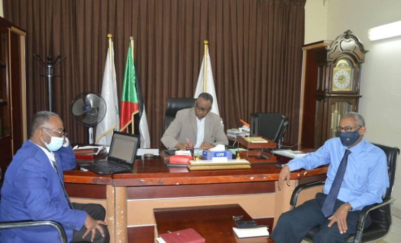 مشروع تعزيز بناء القدرات الوطنية ندخل السودان للعمل البئي العالمى