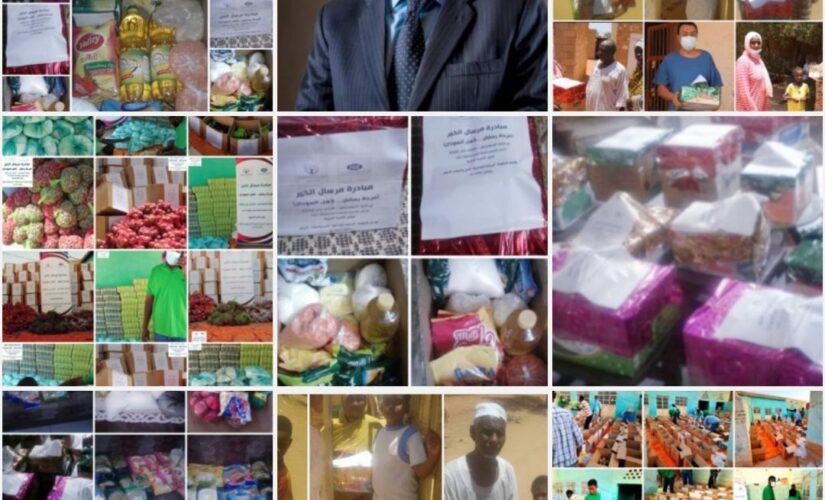 """سفير منظمة الأسرة العربية:تواصل مبادرة """"مرسال الخير لأهل السودان"""""""