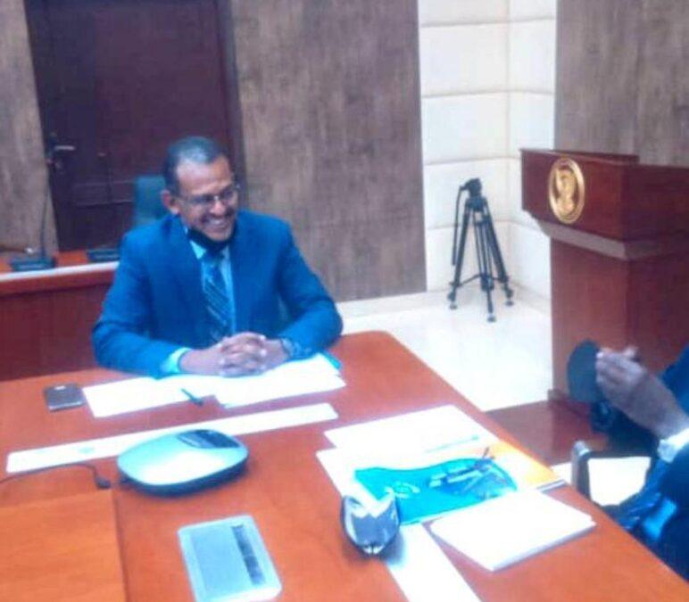 وزير المالية يلتقي وفد الغرفة القومية للمستوردين