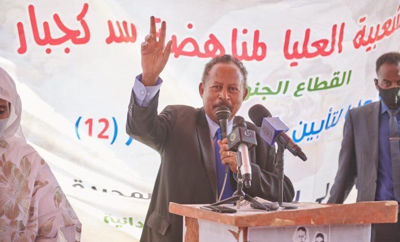 د. حمدوك يتفقد مناطق التعدين بالشمالية