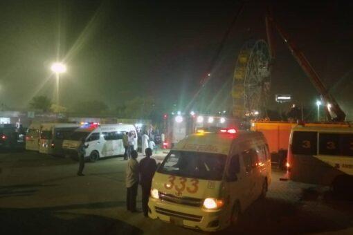إخلاء العالقين بساقية منتزه الرياض بالخرطوم دون إصابات