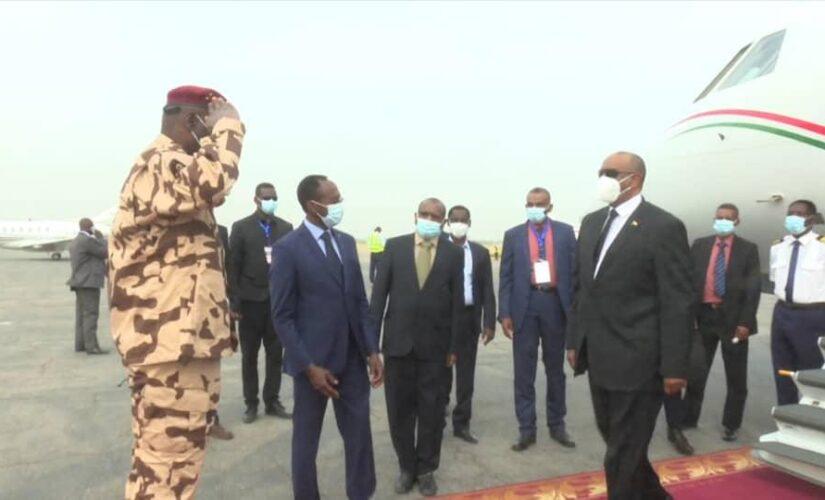 البرهان يصل جمهورية تشاد للمشاركة في تشييع الرئيس ديبي
