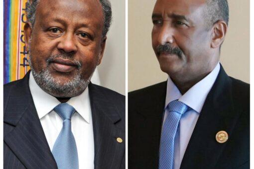البرهان يبعث برسالة تهنئة لرئيس جمهورية جيبوتي