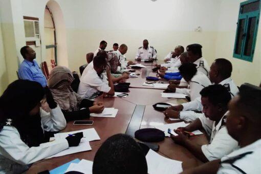 اللجنة العليا لأسبوع المرور العربي بالجزيرة تجيز الموجهات
