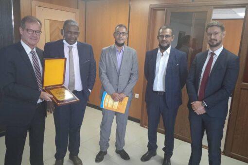 جهود لتمكين دخول الصادرات السودانية للاسواق الاوربية