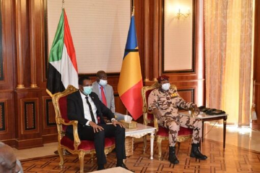 مباحثات رسمية للنائب الأول للسيادي مع رئيس المجلس العسكري التشادي