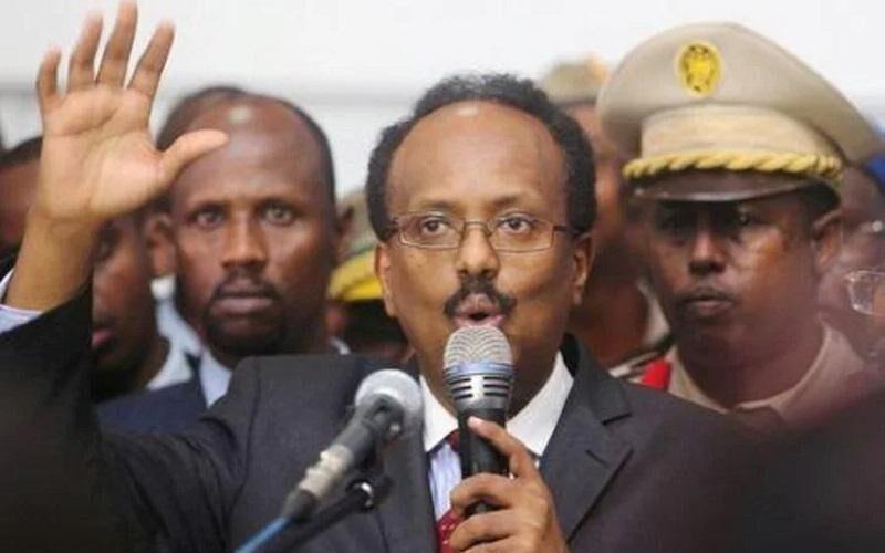 الرئيس الصومالي ييقرر عدم تمديد فترته الرئاسية