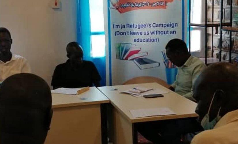 """تدشين حملة"""" انا لاجئ ،لاتتركونا بلا تعليم"""" اليوم"""