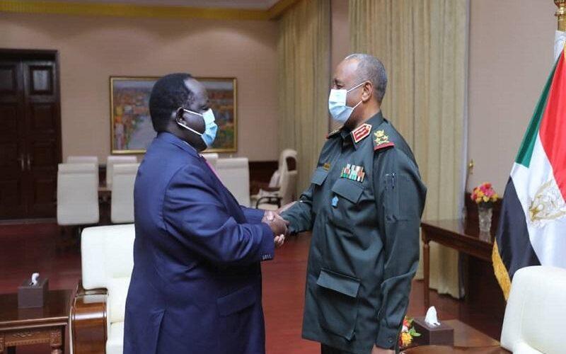 البرهان: يؤكد إلتزام الحكومة بتنفيذ إتفاق جوبا لسلام السودان