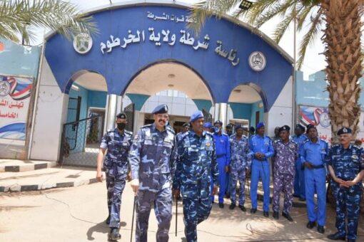 مدير عام قوات الشرطة:يجدد دعمه لحفظ الأمن والاستقرار بالخرطوم