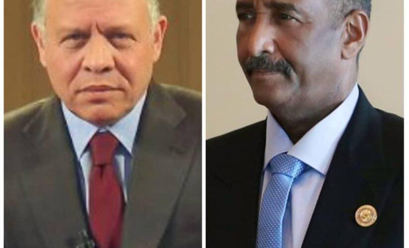 رئيس مجلس السيادة يبعث ببرقية تعزية لملك الأردن