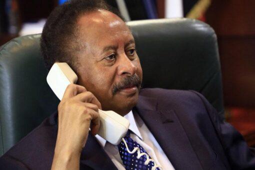 حمدوك يهاتف مبعوث الأمين العام للقرن الأفريقي