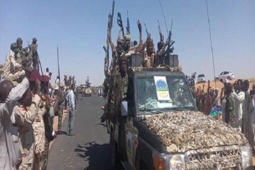 (800)جندي من كل حركة موقعة على السلام لقوات الأمن بدارفور
