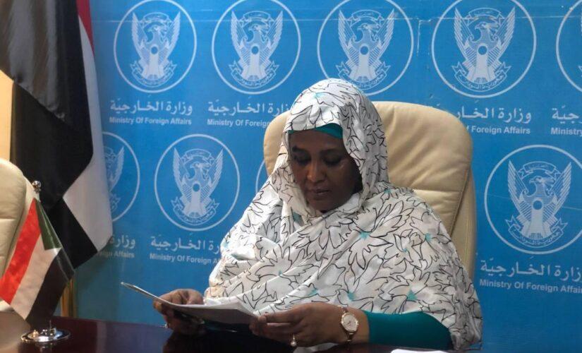 مريم الصادق تدعو لوقف التصعيد الاسرائيلى