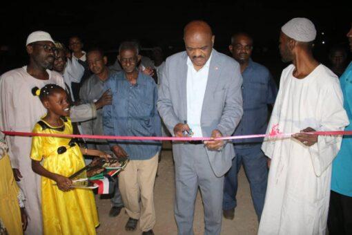 مجلس الشباب والرياضة يفتتح مركز شباب ابوسعد