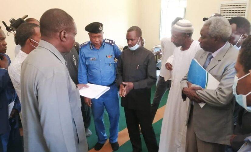 جولة تفقدية لمراكز تسجيل برنامج ثمرات بشرق النيل