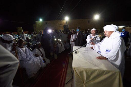 حمدوك يزور خلاوي ومسيد الشيخ الياقوت