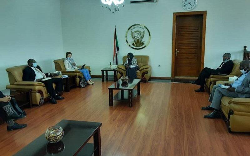 وزيرة الحكم الاتحادي تلتقي المدير القطري للبنك الدولي