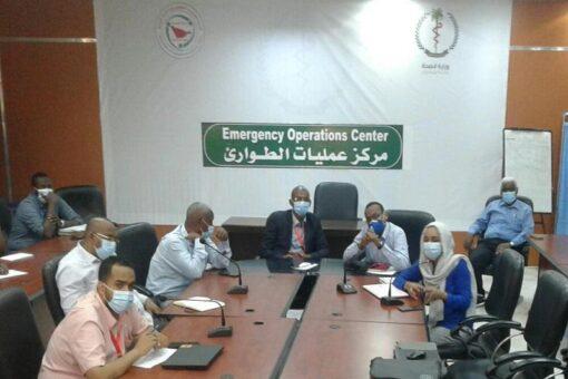 لجنة الطوارىء بصحة الخرطوم تقف على الوضع الصحي