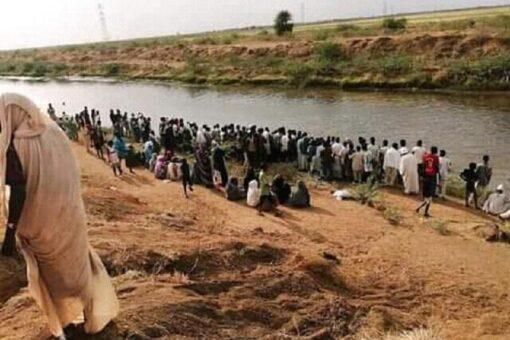 غرق ثلاثة فتيات بترعة عسلاية منطقة الرواشدة محلية ربك