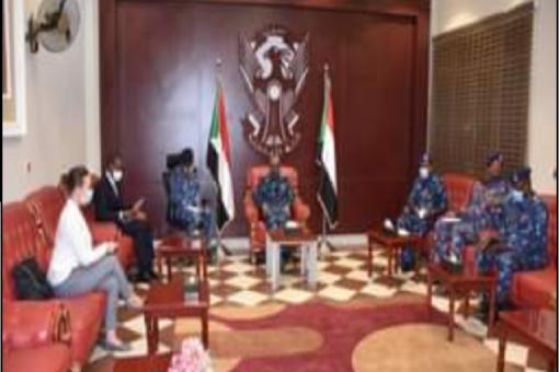 وزير الداخلية يبحث مع رئيس اليوناميد تأمين مقار البعثة