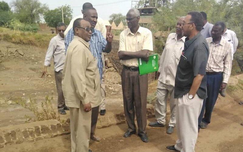 وزير الري يطمئن على اعمال الصيانة الصيفية بالجزيرة