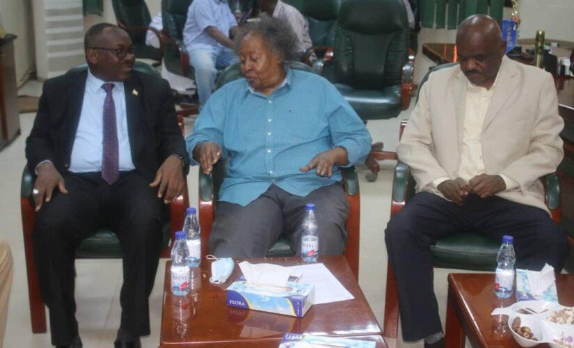 فيديو كونفرنس بين الاتحاد السودانى لكرة القدم والكاف ظهر الثلاثاء