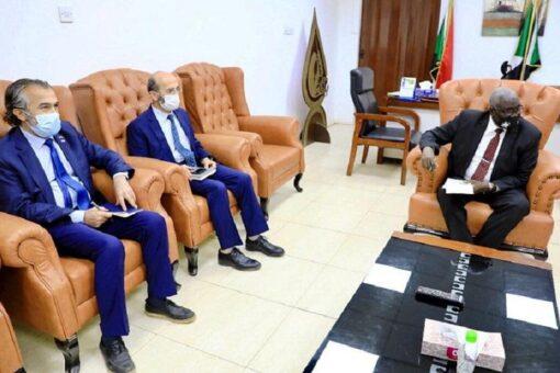 وزيرالتنمية الاجتماعيّة يبحَثُ مجالات التعاون مع الوكالة التركيّة للتعاون والتنسيق(تيكا)