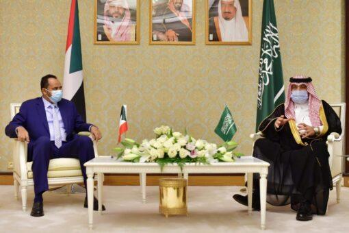 حمزة بلول يبحث مع وزيرالاعلام السعودي التعاون في المجال الاعلامي