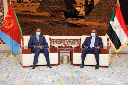 السودان وأريتريا يؤكدان ضرورة تعزيز العلاقات الثنائية