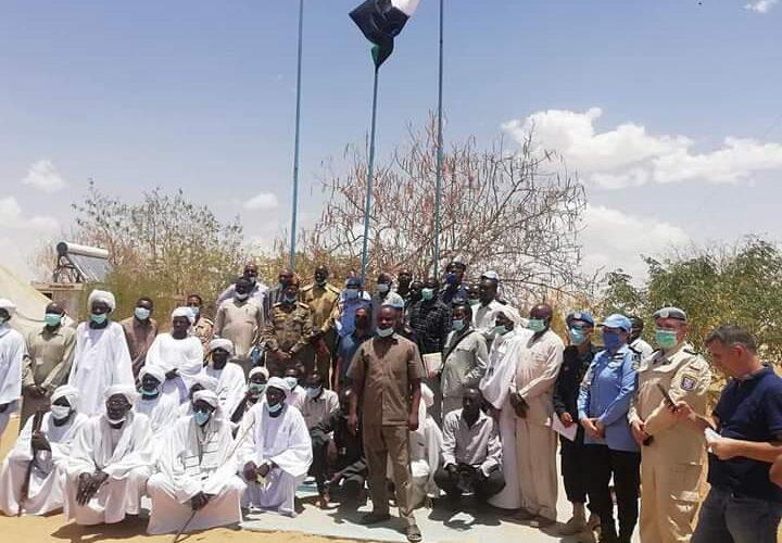شمال دارفور تتسلم مقر بعثة اليوناميد بطويلة