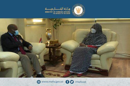 وزيرة الخارجية تلتقي وفد المحكمة الجنائية الدولية