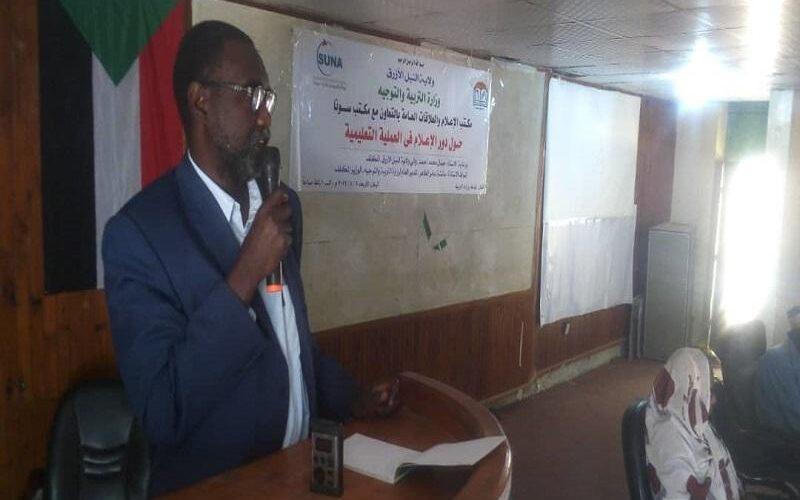 والي النيل الأزرق يؤكد أهمية الإعلام للتبشير بالسلام وتطوير التعليم