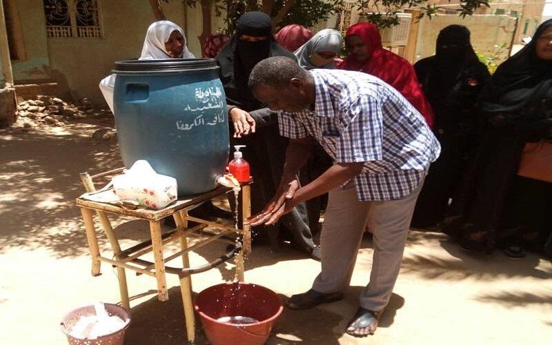 محلية الدامر تحتفل باليوم العالمي لغسل الايدي