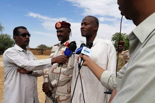 قوات الدعم السريع تنفذ عمليات تمشيط بسرف عمرة بشمال دارفور