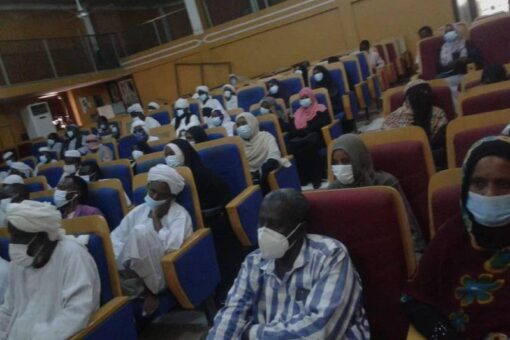 لقاء تنويري للالتزام بالموجهات والاشتراطات الصحية بالقضارف