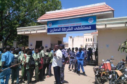 تدشين مشروع نفير النظافةبمستشفى الشرطة بالدمازين