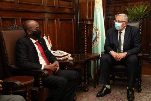 السودان ومصر يبحثان التعاون المشترك في مجال الثروة الحيوانية