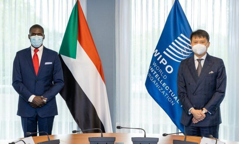 وزير العدل يلتقي مدير المنظمة العالمية للملكية الفكرية بجنيف