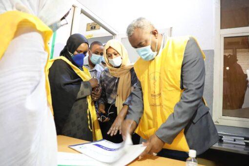 استمرار حملة التطعيم بلقاح كورونا بولاية القضارف