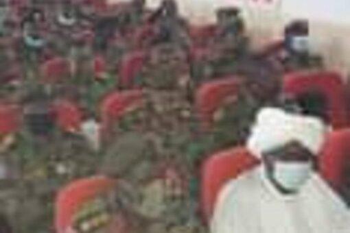 والي شمال دارفور بالانابة يقدم التهنئة للقوات النظامية والمرضى بالمستشفيات