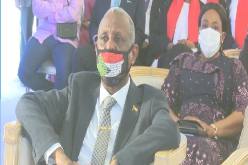 العطا يشارك في مراسم تنصيب رئيس جمهورية جيبوتي