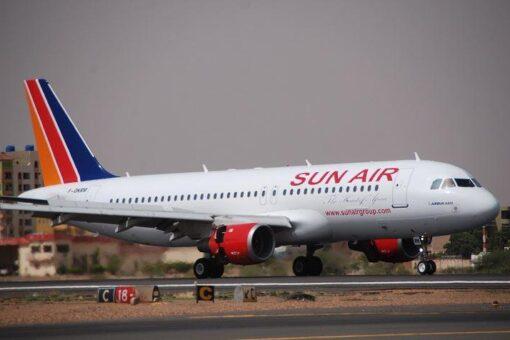 شركة صن اير تعلن عن وصول طائراتها خلال الأسبوعين القادمين