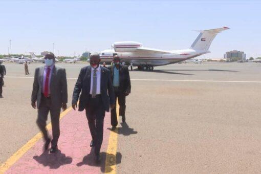 العطا يعود للبلاد من جمهورية جيبوتي