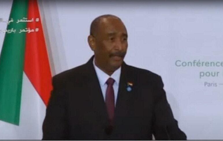 البرهان: مؤتمر باريس يؤسس لعودة السودان وإندماجه في المجتمع الدولي
