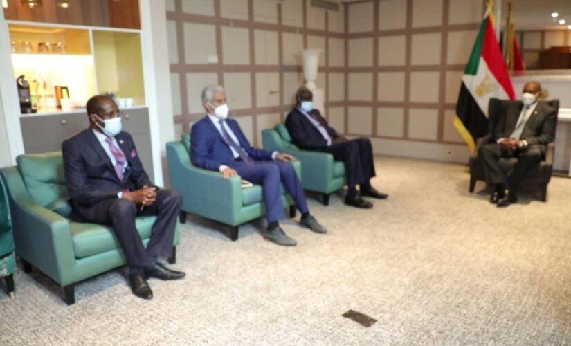 رئيس مجلس السيادة يشيد بدعم الاتحاد الأفريقي للسودان
