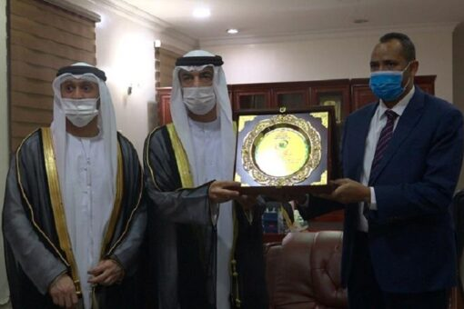 بلول يستقبل رئيس دائرة الثقافة بإمارة الشارقة