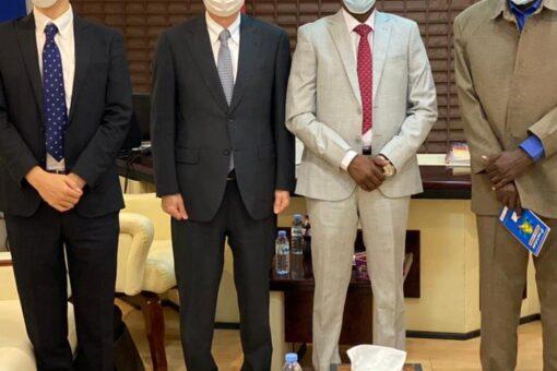 وزير التنمية العمرانية والسفير الياباني يبحثان تعزيز العلاقات السودانية اليابانية