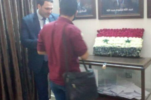 السوريون بالخرطوم يصوتون لاختيار رئيسهم والسفير يشيد بالحكومة السودانية