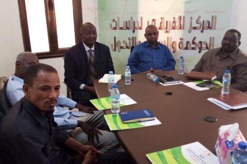 المركز الافريقي لدراسات الحوكمة يمتدح انحياز حركة (تمازج) للسلام